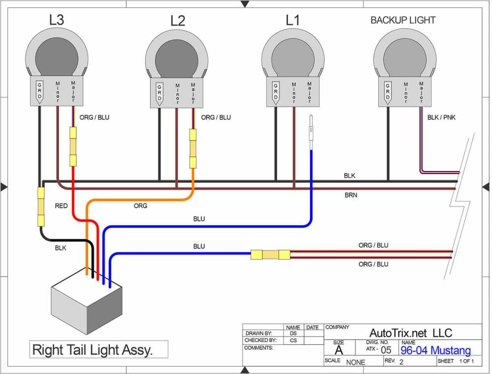 medium resolution of 96 04 mustang sequential taillights autotrix net 96 mustang wiring diagram for lights on