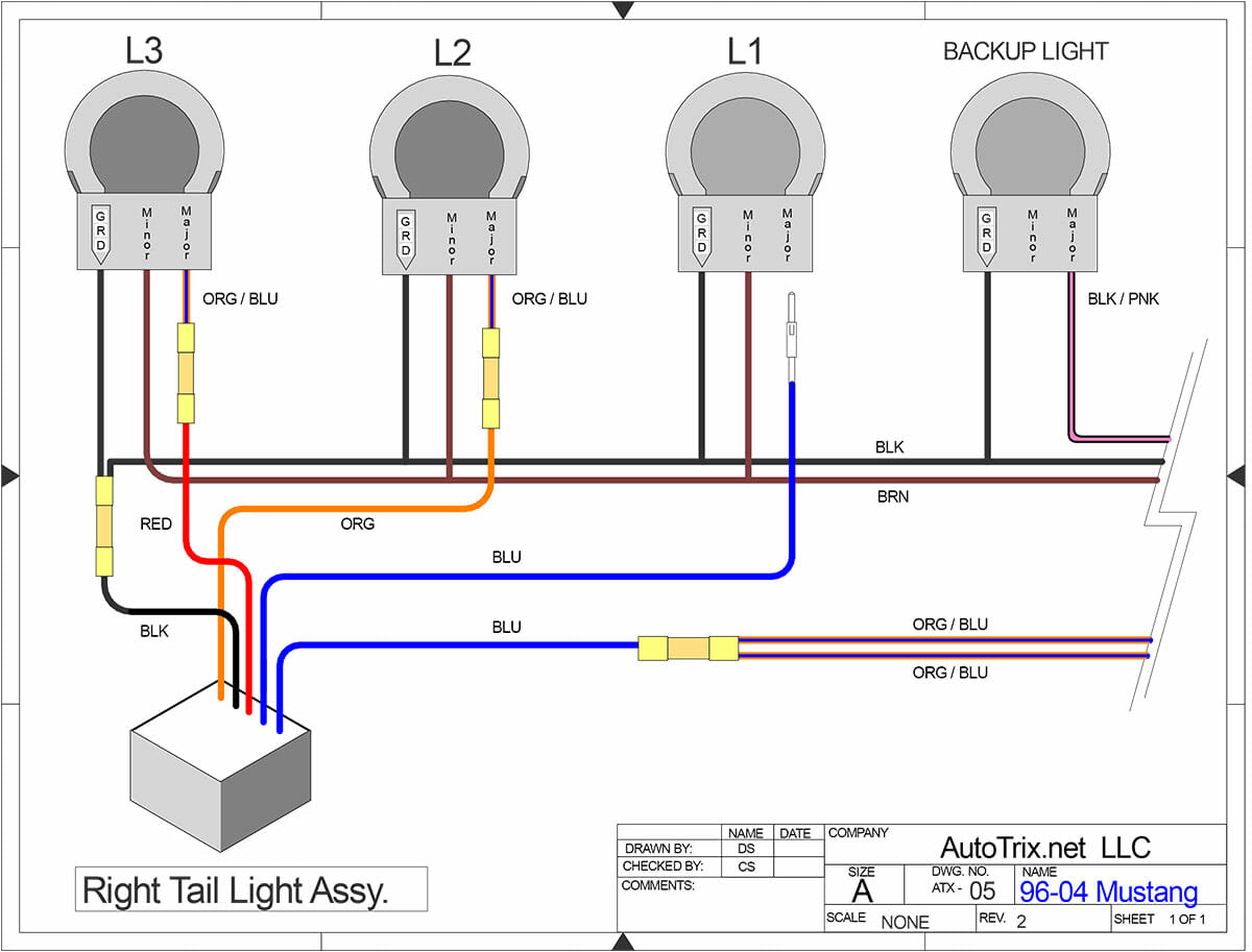 hight resolution of 96 04 mustang sequential taillights autotrix net 96 mustang wiring diagram for lights on