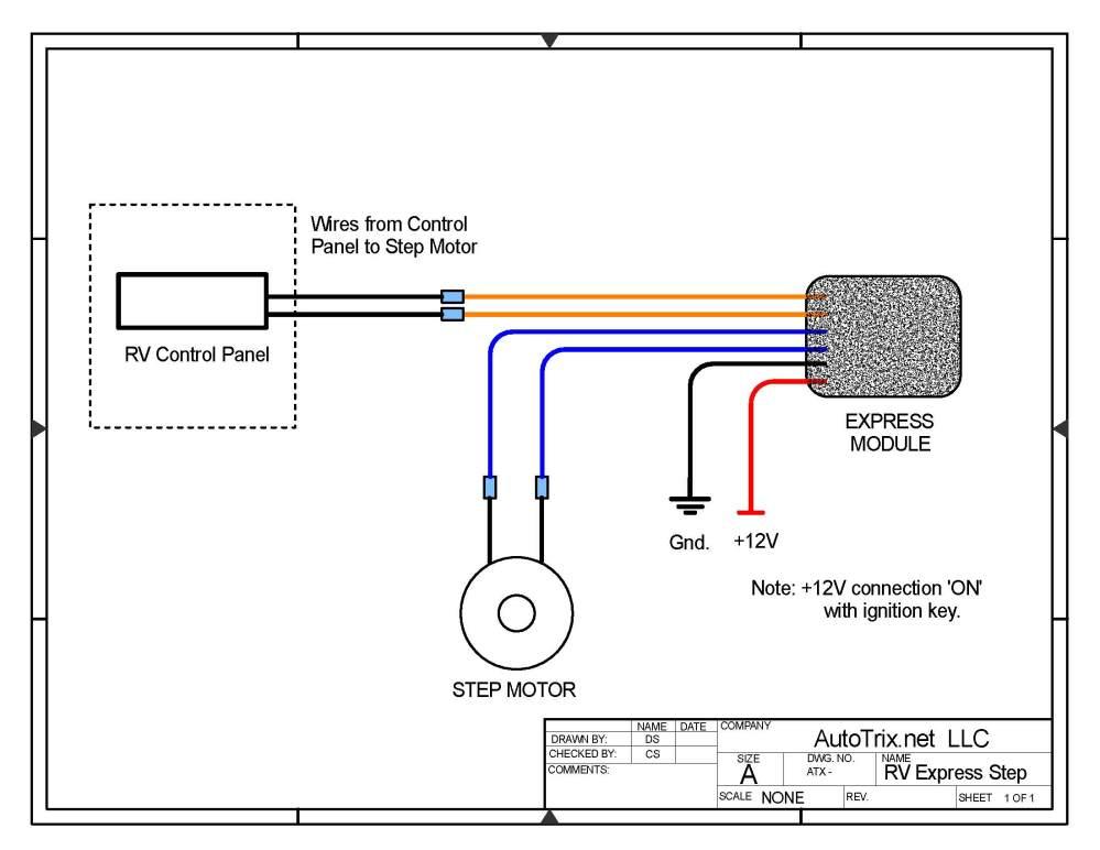 medium resolution of universal rv step cover express module motor install autotrix netrv step wiring diagram 10
