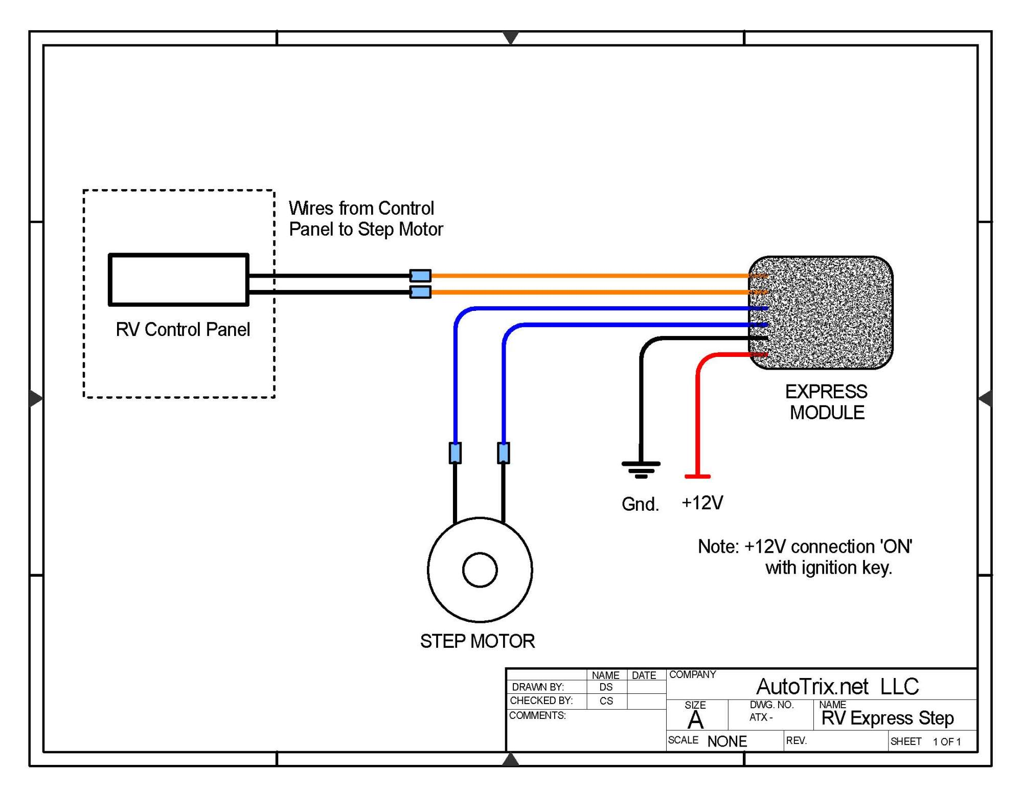 hight resolution of universal rv step cover express module motor install autotrix netrv step wiring diagram 10