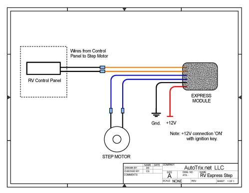 small resolution of universal rv step cover express module motor install autotrix netrv step wiring diagram 5