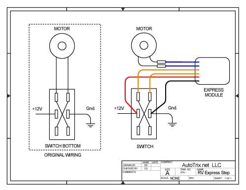 small resolution of universal rv step cover express module switch install autotrix netrv step wiring diagram 14