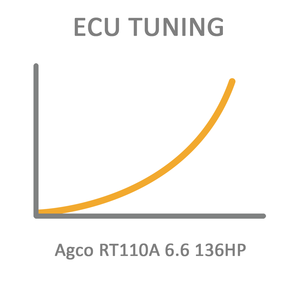 Agco RT110A 6.6 136HP ECU Tuning Remapping Programming