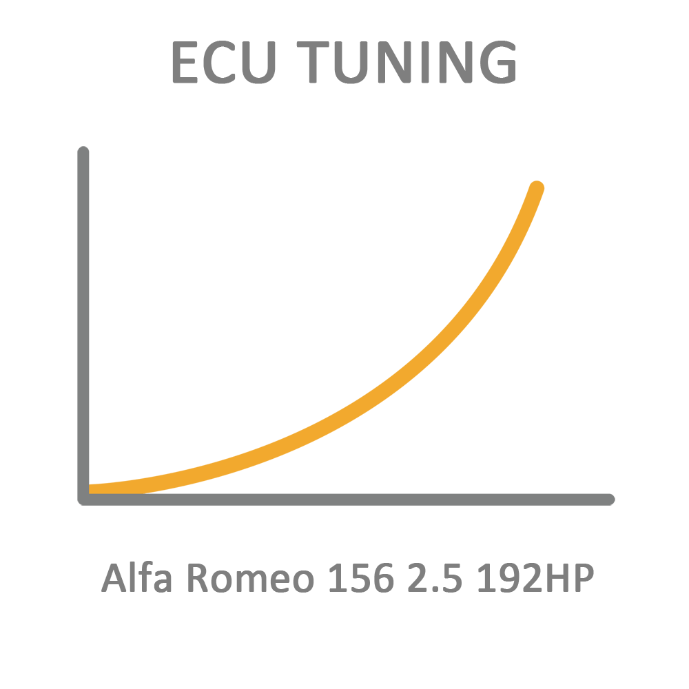Alfa Romeo 156 2.5 192HP ECU Tuning Remapping Programming