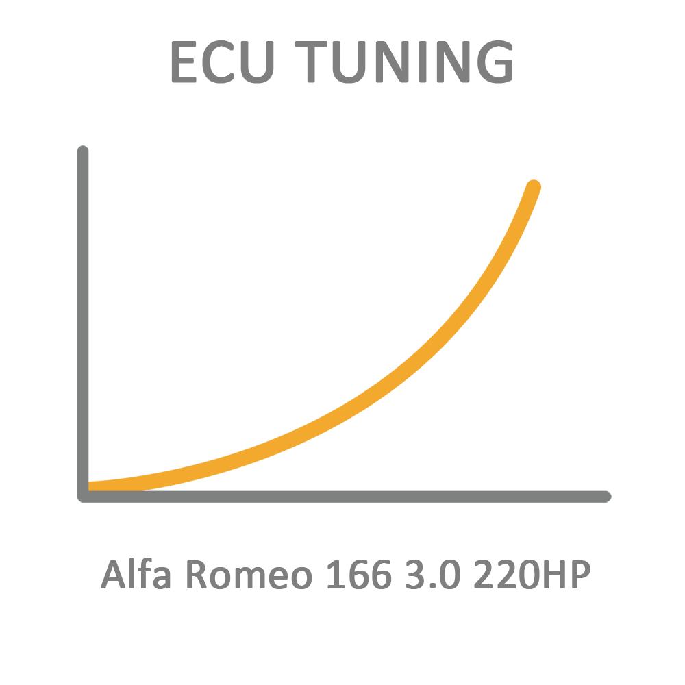 Alfa Romeo 166 3.0 220HP ECU Tuning Remapping Programming