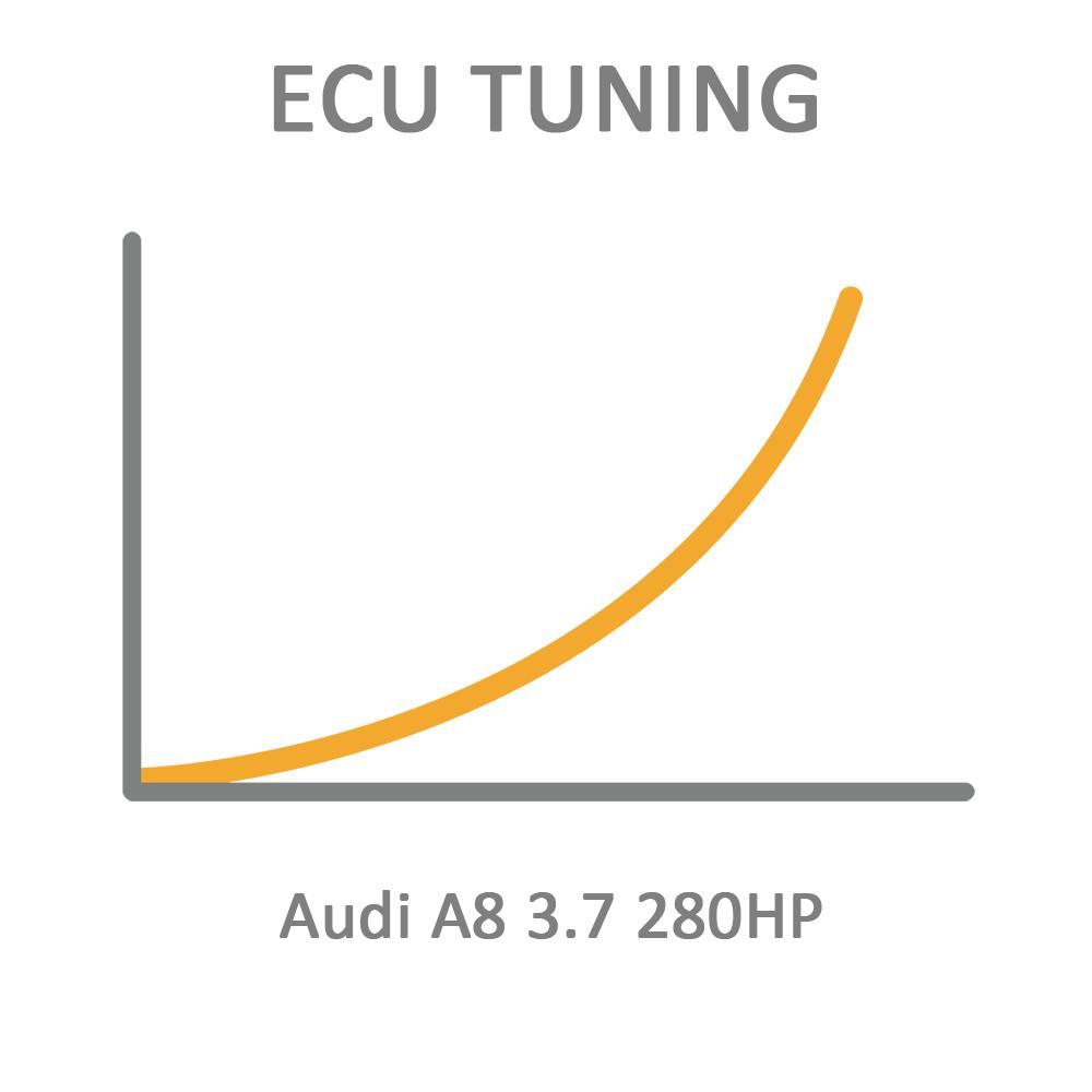 Audi A8 3.7 280HP ECU Tuning Remapping Programming
