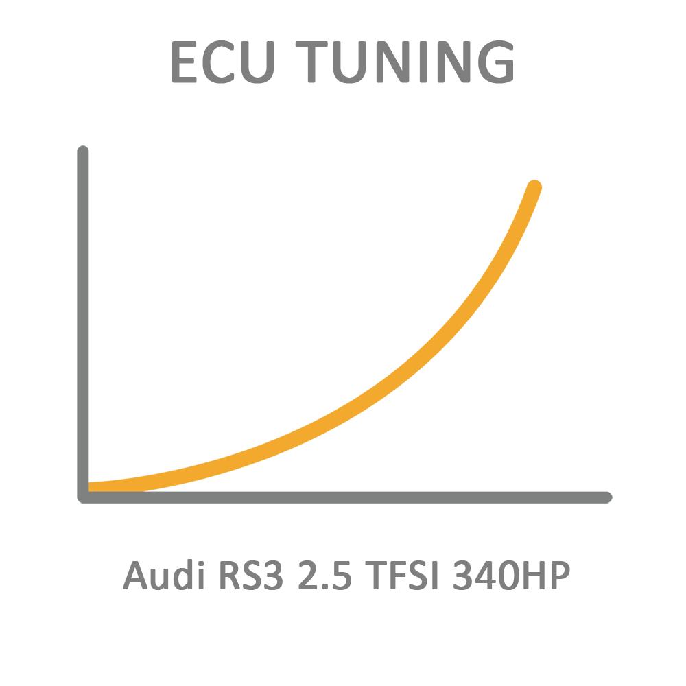 Audi RS3 2.5 TFSI 340HP ECU Tuning Remapping Programming