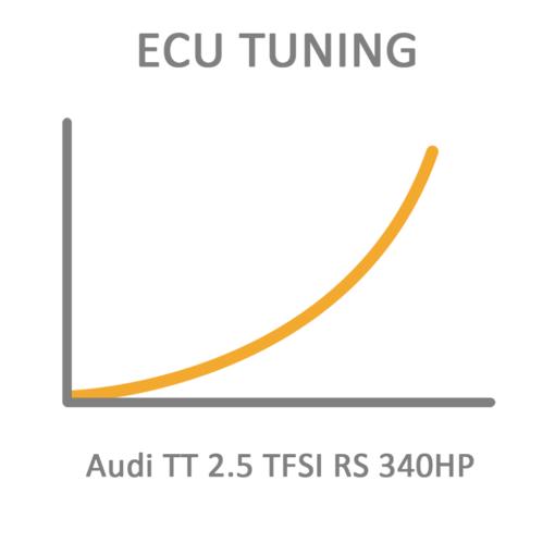 Audi TT 2.5 TFSI RS 340HP ECU Tuning Remapping Programming