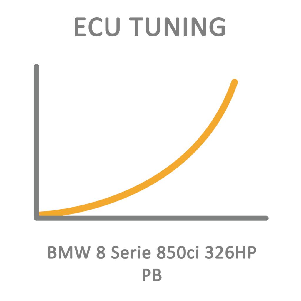 BMW 8 Series 850ci 326HP PB ECU Tuning Remapping Programming