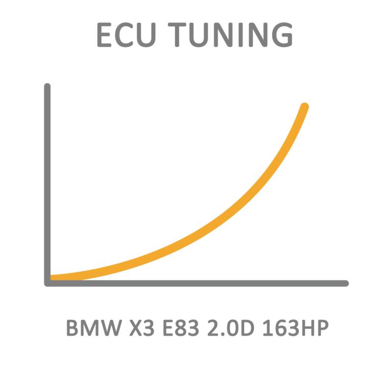 BMW X3 E83 2.0D 163HP ECU Tuning Remapping Programming