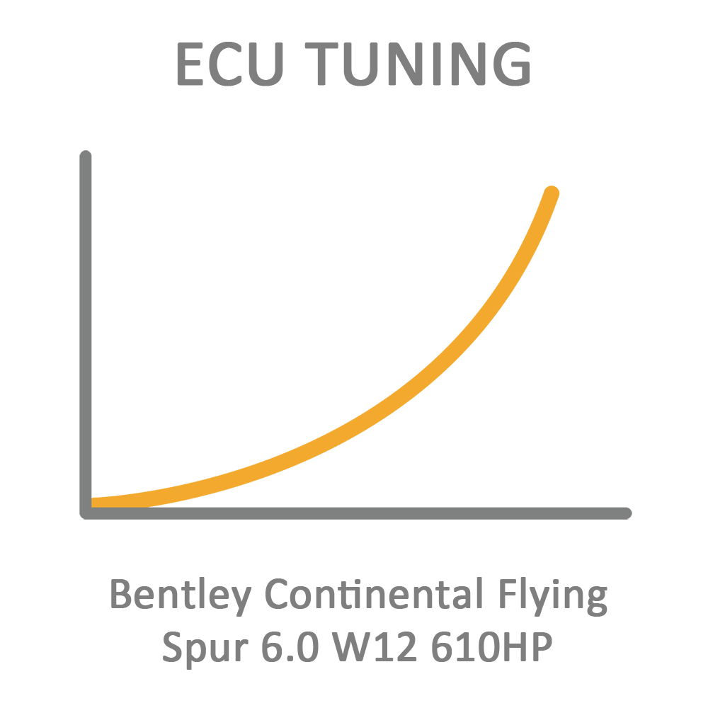 Bentley Continental Flying Spur 6.0 W12 610HP ECU Tuning