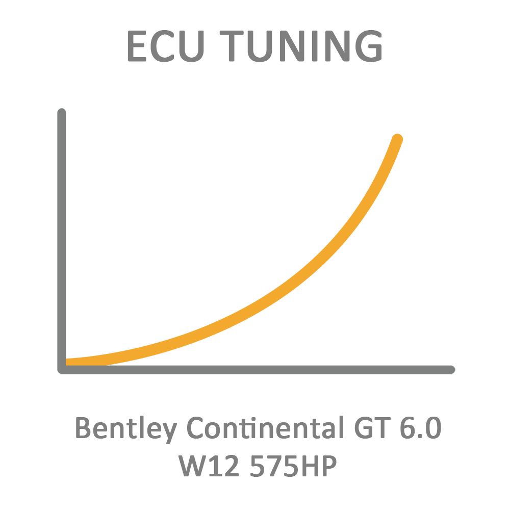 Bentley Continental GT 6.0 W12 575HP ECU Tuning Remapping