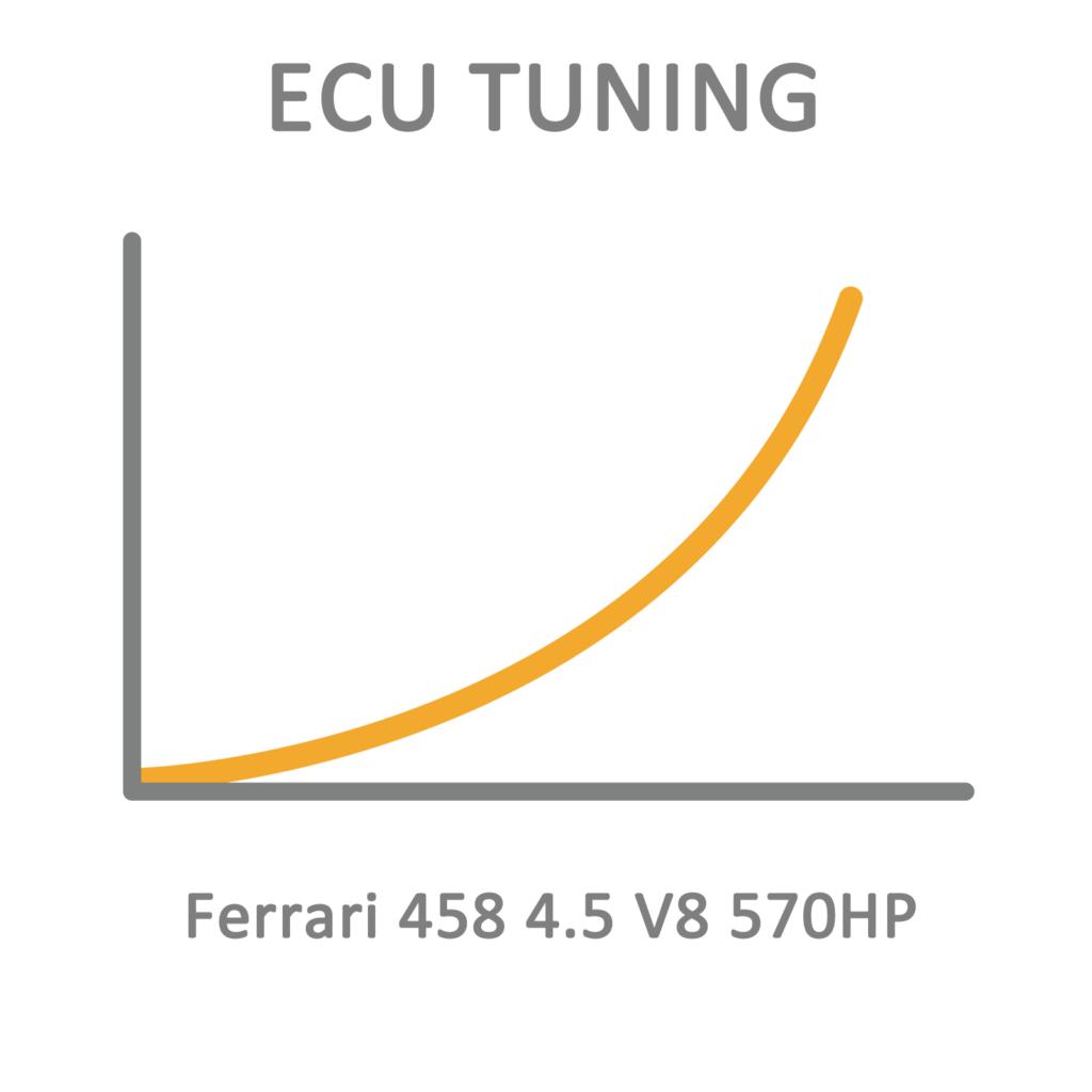 Ferrari 458 4.5 V8 570HP ECU Tuning Remapping Programming