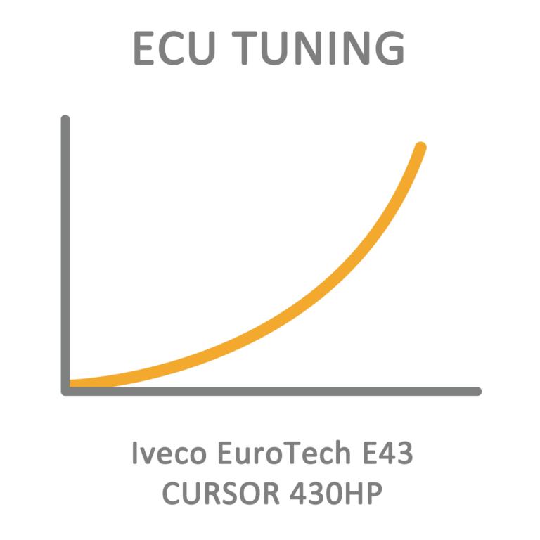 Iveco EuroTech E43 CURSOR 430HP ECU Tuning Remapping