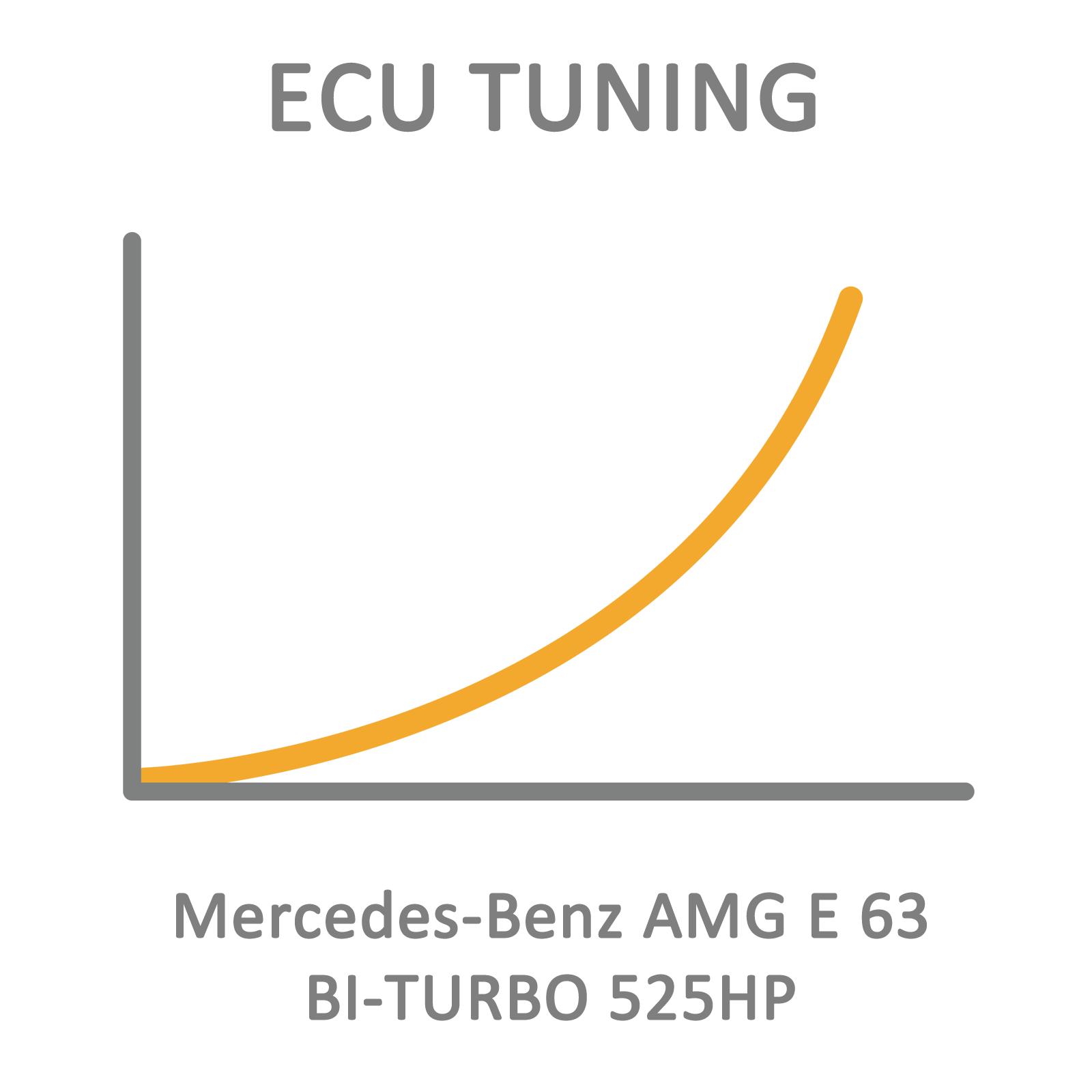 Mercedes-Benz AMG E 63 BI-TURBO 525HP ECU Tuning Remapping