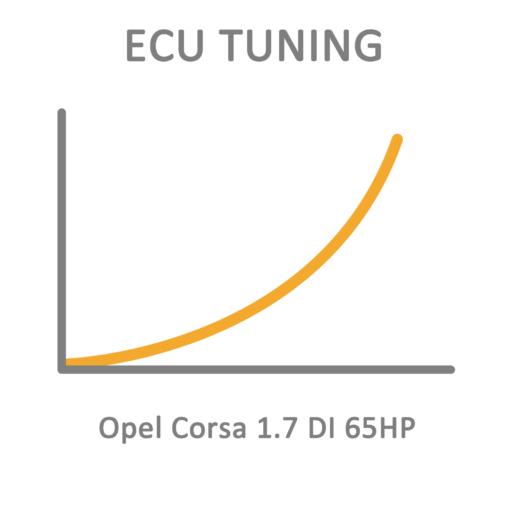 Opel Corsa 1.7 DI 65HP ECU Tuning Remapping Programming