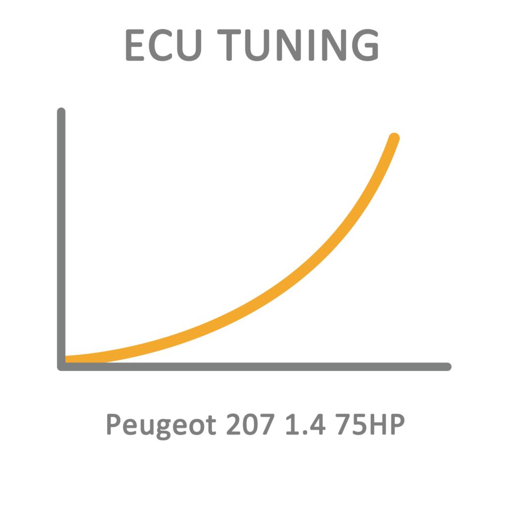 Peugeot 207 1.4 75HP ECU Tuning Remapping Programming