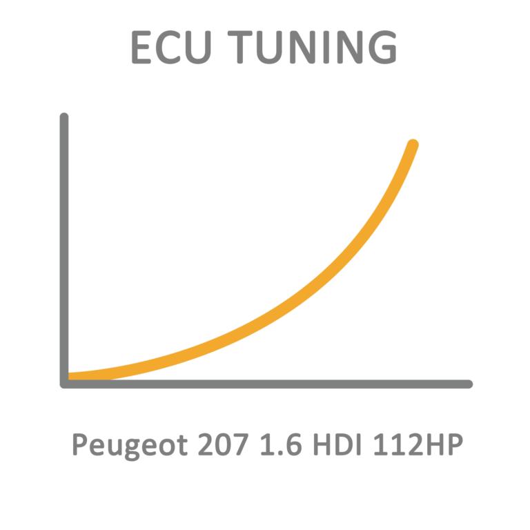 Peugeot 207 1.6 HDI 112HP ECU Tuning Remapping Programming