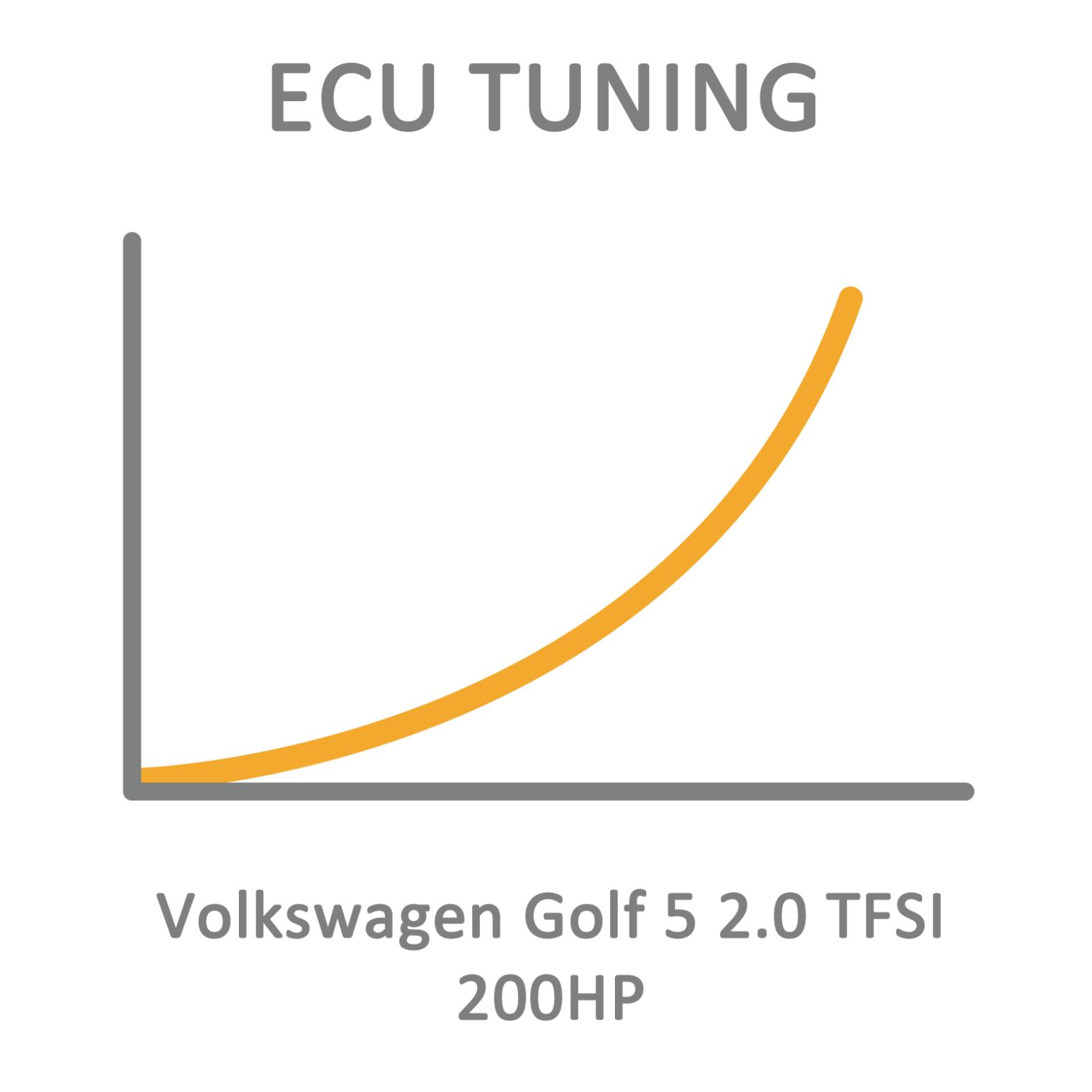 Volkswagen Golf 5 2.0 TFSI 200HP ECU Tuning Remapping
