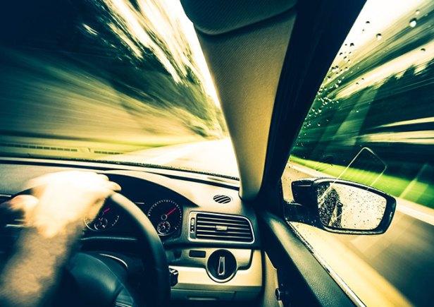 jazda samochodem w UK