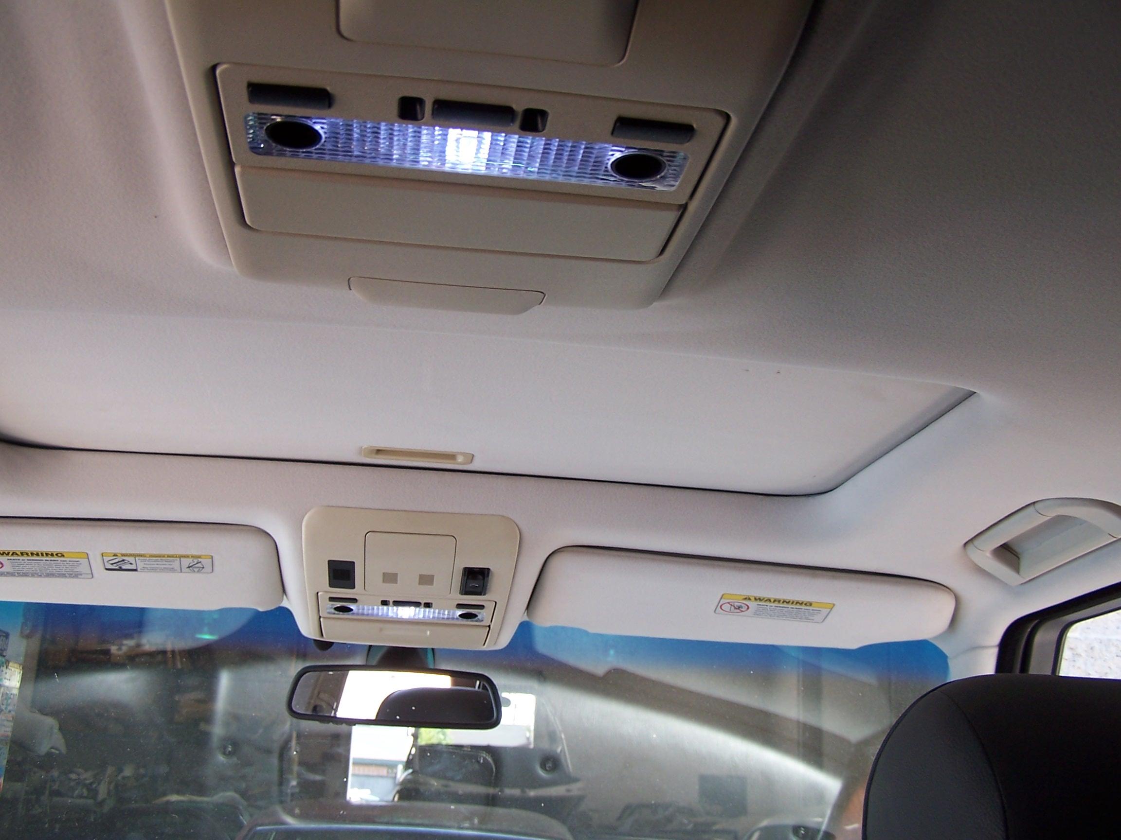 Custom Range Rover Headliner Afterbefore AUTO