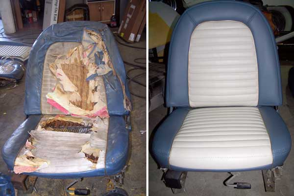 Auto Interior Repairs  AUTO UPHOLSTERY BY AJ  Northridge CA