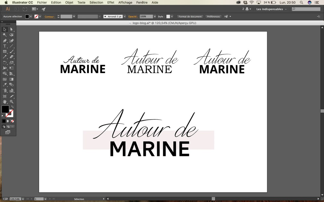 Autour de Marine - Photo webdesign