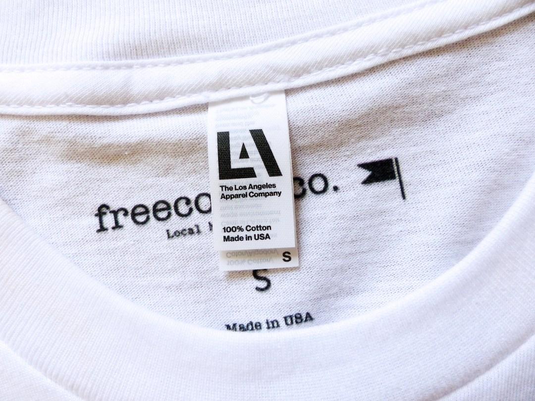 Freecoast Co t-shirt Autour de Marine