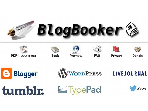 blogbooker BlogBooker, transformer un blog en livre !