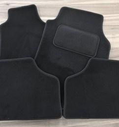91132329 vauxhall astra mkiv g 98 04 tailored carpet floor mats set deluxe black oe [ 1568 x 1152 Pixel ]