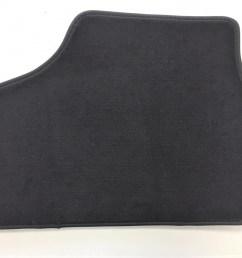 vauxhall astra g anthracite velour carpet mat set [ 1427 x 1071 Pixel ]