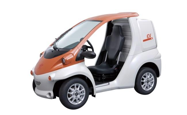 Toyota Coms Electric Car