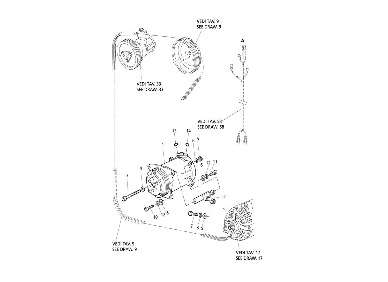 Air Compressor And Bracket