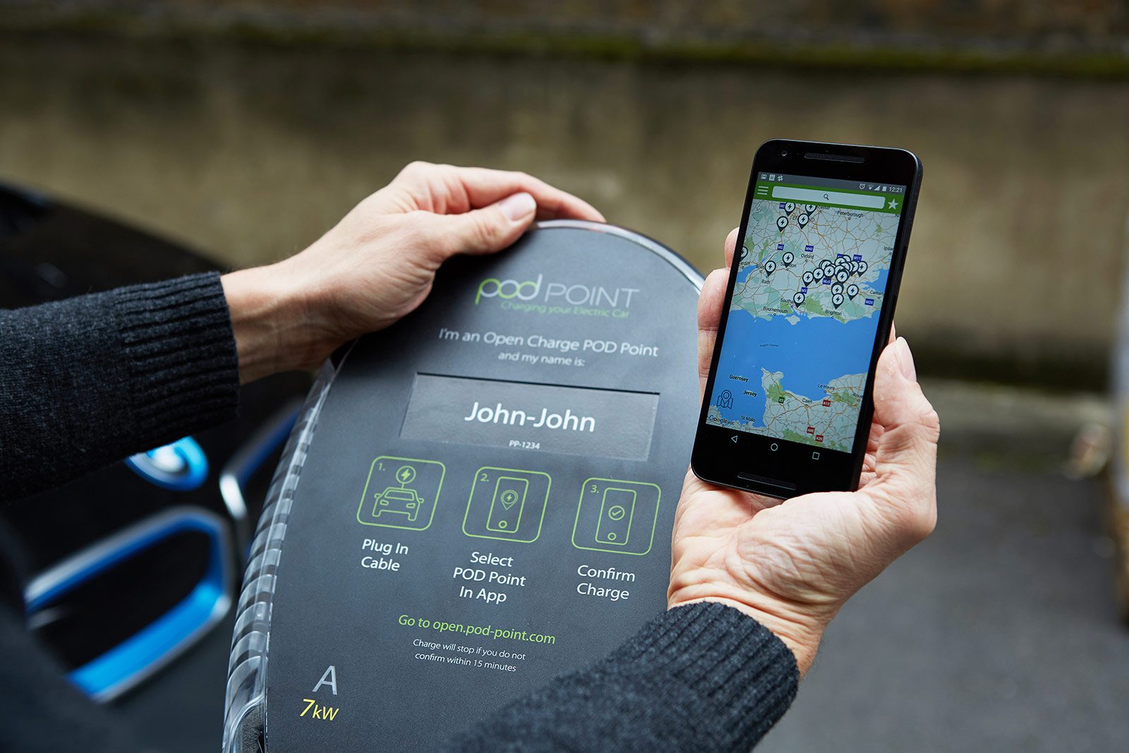 POD Point Open Charge Ditches RFID, uses Crowdfunding and ...