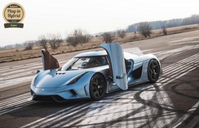 Koenigsegg Regera AutoVolt Awards 2016