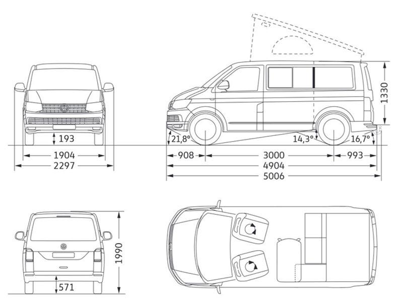 Auto Wyrsch: VW T6 California Ocean Edition DSG (Camper 1)