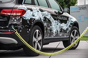 Das Brennstoffzellenfahrzeug Mercedes GLC F-Cell. Foto: Daimler