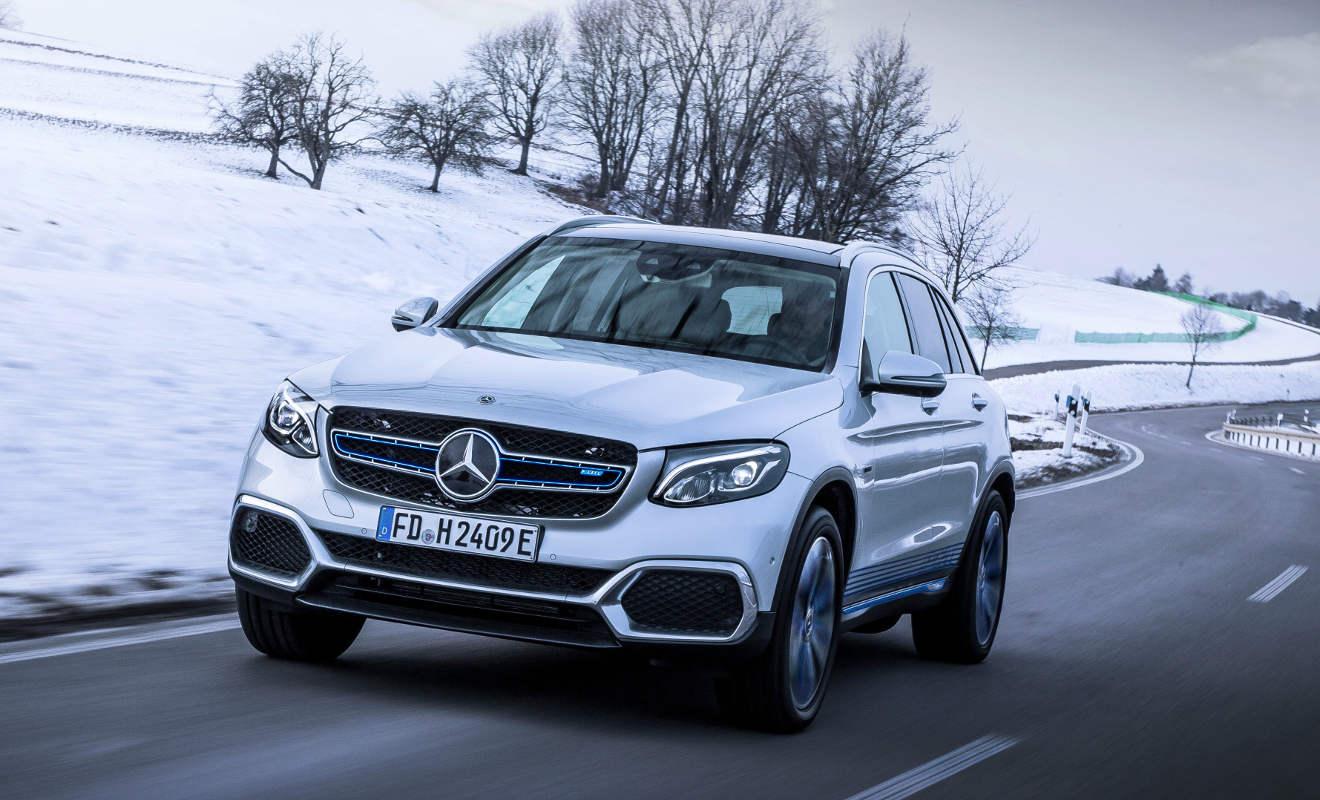 Mercedes-Benz GLC F-CELL. Foto: Daimler
