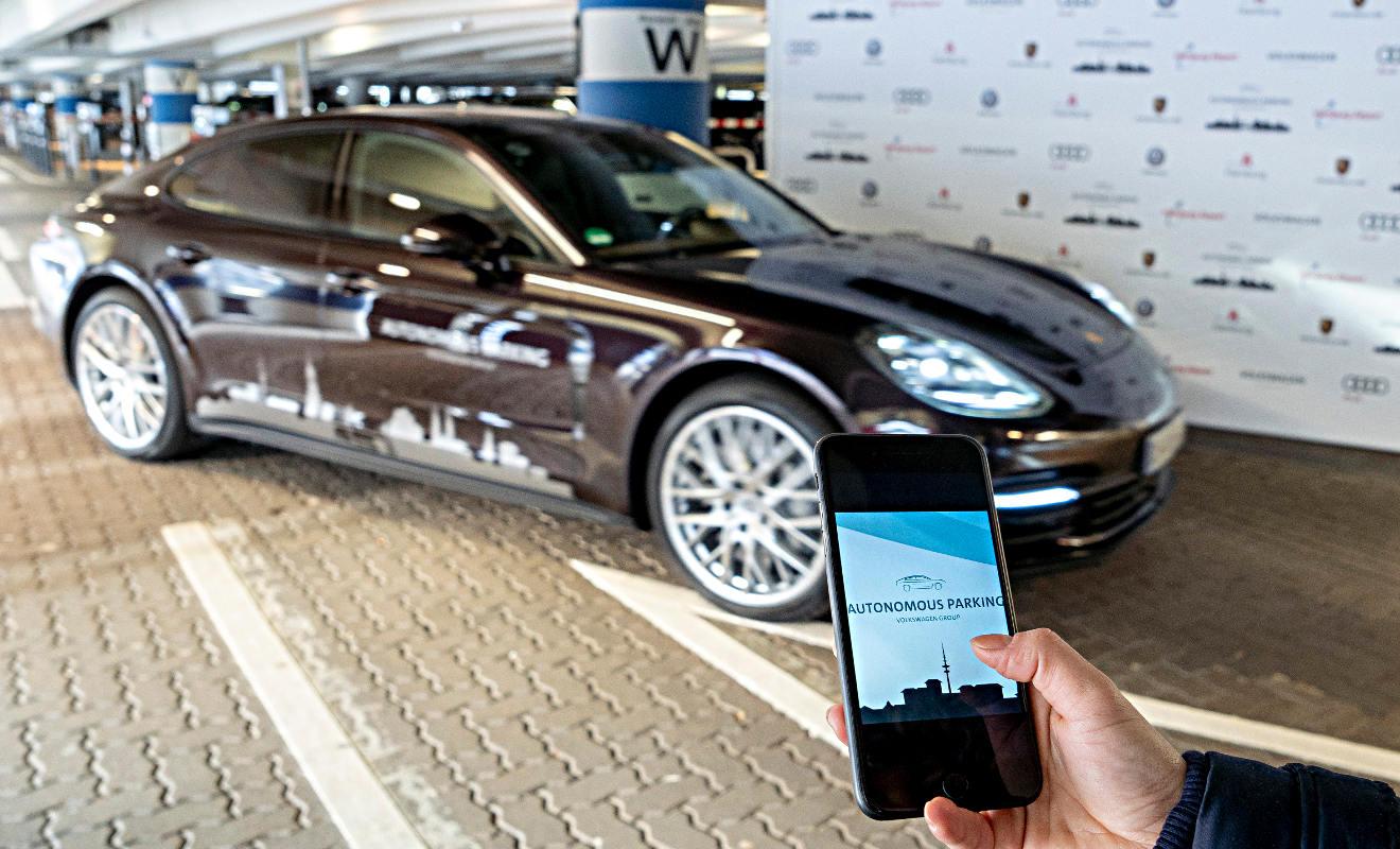 Porsche Panamera. Foto: Knoth/VW