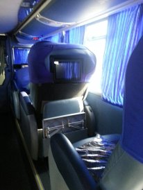 Cruz del sur, le confort des bus.
