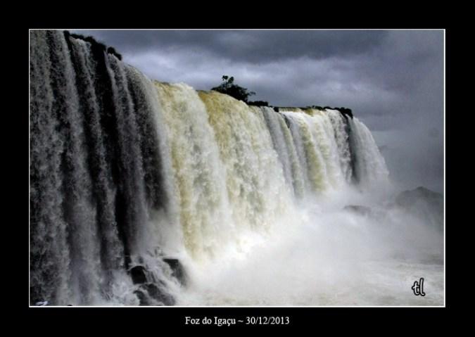 chutes d'Iguaçu côté Brésil