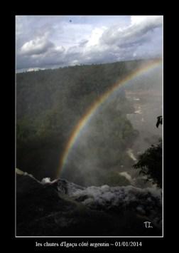 chutes d'Iguaçu côté argentin