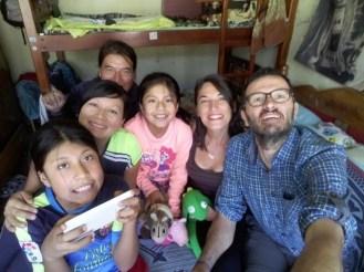 Fabian et sa famille