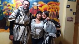Avec Maggi notre hôtelière de Cuenca (Hogar Cuencano Hostal)