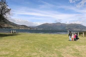 Le lac San Pablo