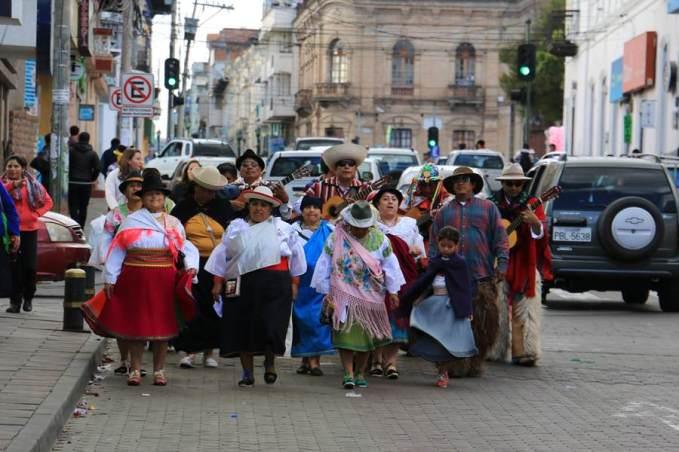 Inti Raymi à Cayambe