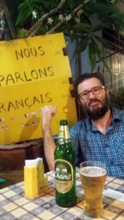 on mange Thaï , on parle français