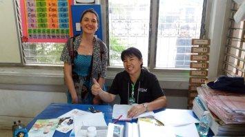 Laura et son homologue thaïlandaise