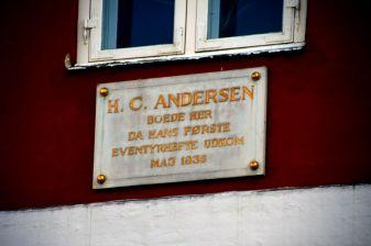 maison d'Adersen à Copehenague