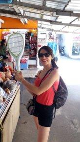 on se fait un tennis...à Lamphun